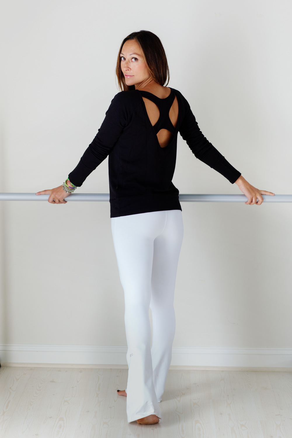 Me Pre-Surgery. I am so going to rock these white Splits59 Raquel tights again!