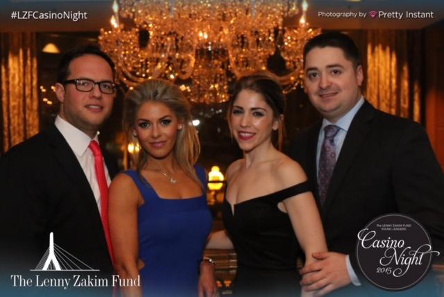 Sam and Jessica Slater, Josh Zakim and Grace Rosenthal