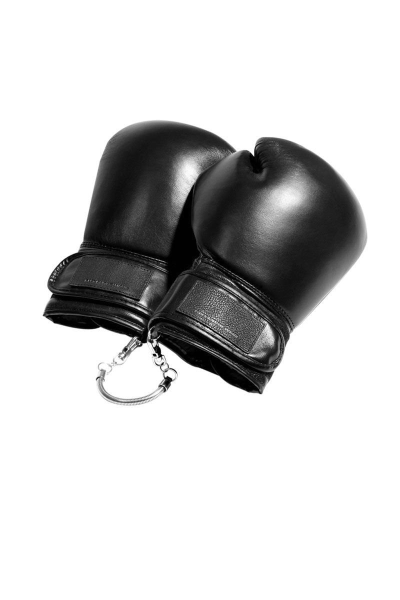 Alexander Wang boxing gloves.