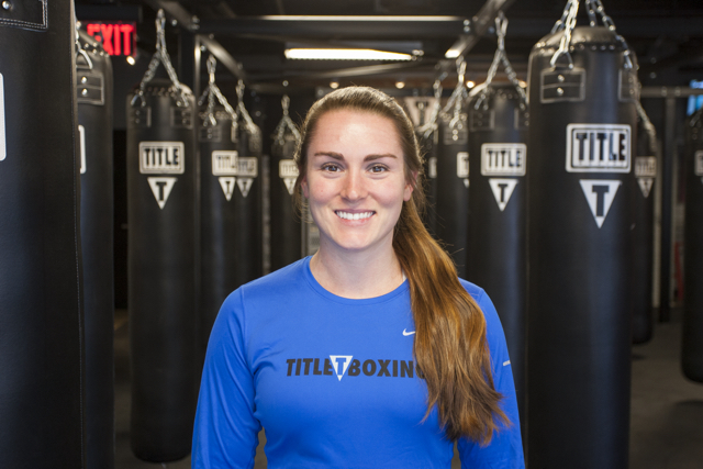 Jessica Musto, VP of Title Boxing Boston