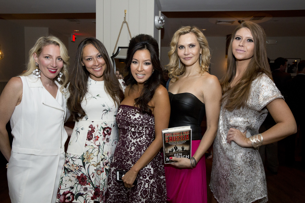 Alisa, Jessica, Tonya Mezrich, Sofia Ostrer and Abby Cushman