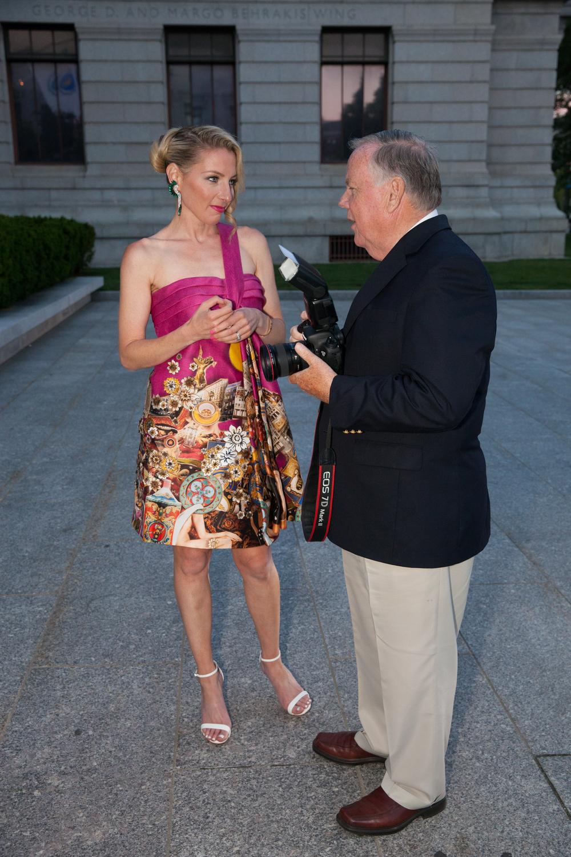 With Bill Brett