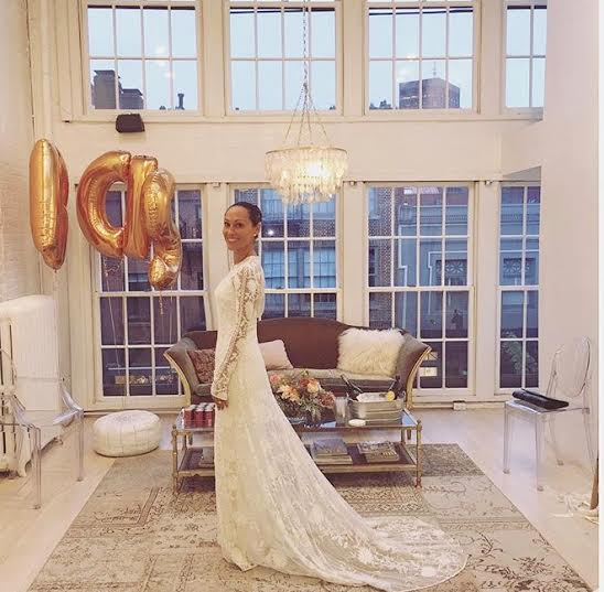 Jessica got to play dress up in her dream dress, The Chloe Gown