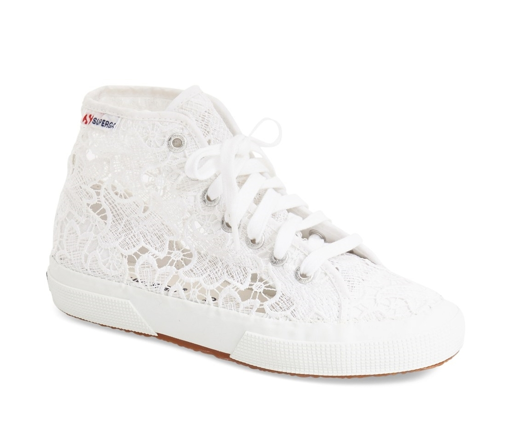 Superga Macrame High Tops