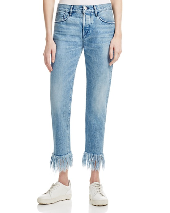 Straight Crop Jeans