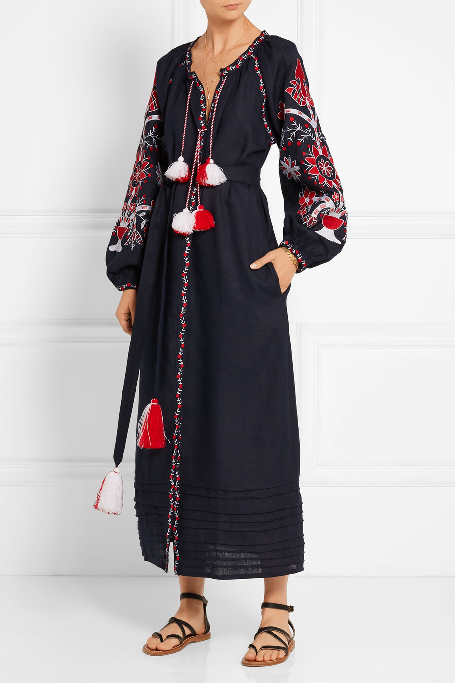 March 11 Embroidered Dress