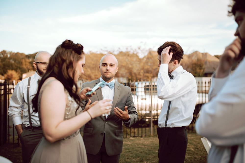 Groom Pre-Wedding Nerves