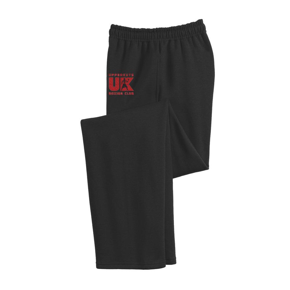 UpperKuts Boxing Comfy cotton sweatpants for Fall