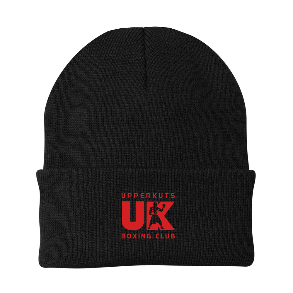 UpperKuts Boxing Beanie for Fall