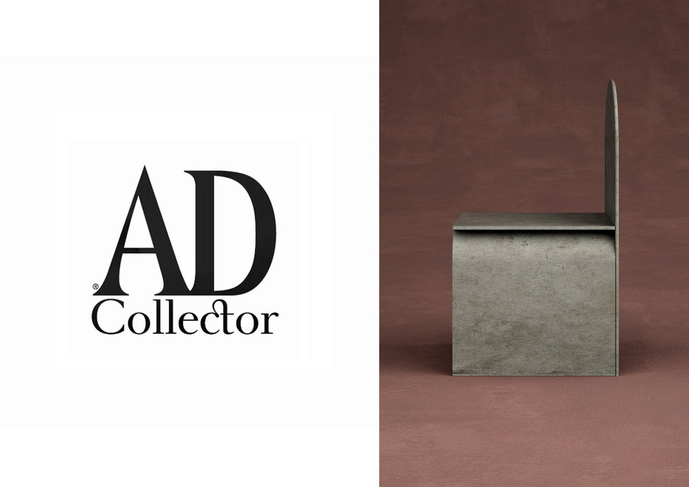 "COLLECTION GIORGIO _ G3  CHAIR IN ""  AD COLLECTOR 17 FRANCE  "" _ SEPTEMBER 17"