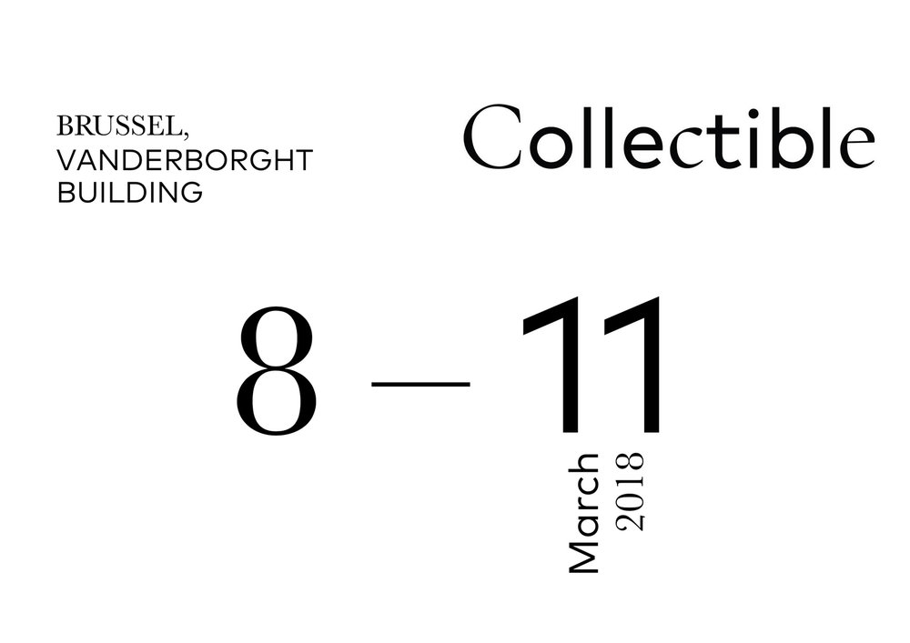 COLLECTIBLE FAIR   IN BRUSSELS _ IN COLLABORATION WITH  KOLKHOZE  FOR ITINERANCE PROJECT AND  VAN DEN WEGHE / ITEMS  _ MARCH 18