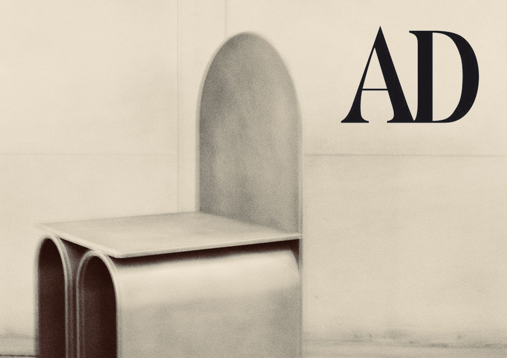 "GIORGIO _ G3  CHAIR IN ""  AD GERMANY  "" _ APRIL 18"