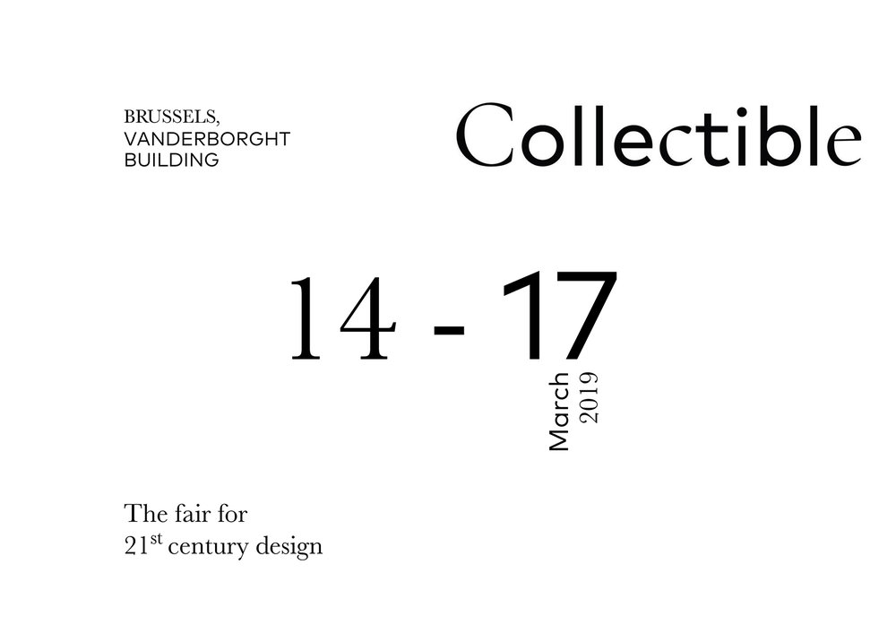 COLLECTIBLE FAIR   IN BRUSSELS _ IN COLLABORATION WITH  VAN DEN WEGHE / ITEMS  _ MARCH 19