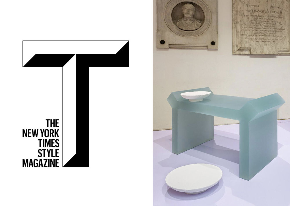 THE NEW YORK TIMES STYLE MAGAZINE   _ SALONE DEL MOBILE _ MILAN _   THEOREME EDITIONS    _  APRIL 19