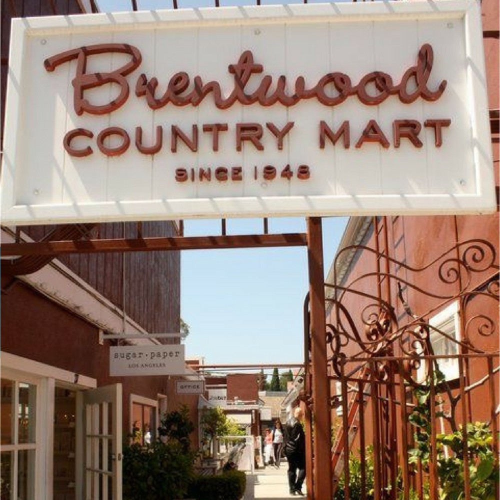 Brentwood is an affluent neighborhood on the westside of Los Angeles nestled in the foot of the Santa Monica Mountains. It has shopping promenades and is home to the widely recognized Brentwood Country Mart.
