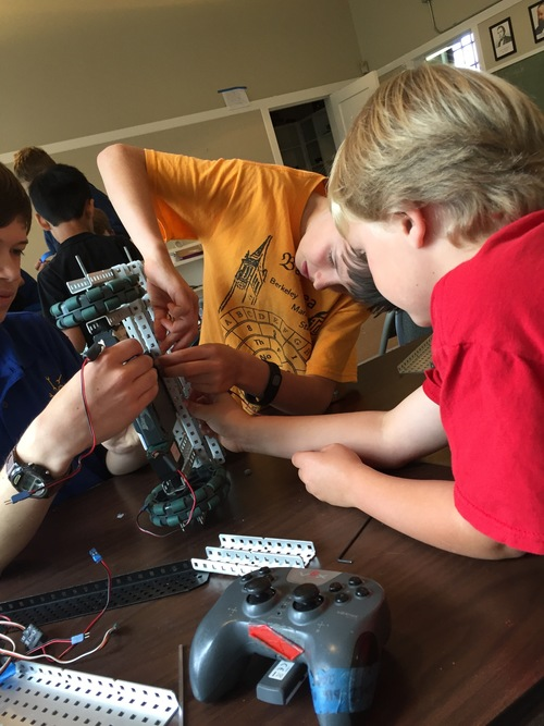 Berkeley Robotics, July 11th - July 15th, 2016