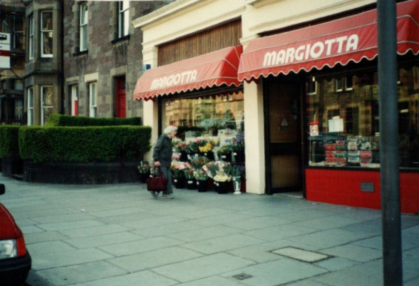 Our First MArgiotta shop on marchmont road