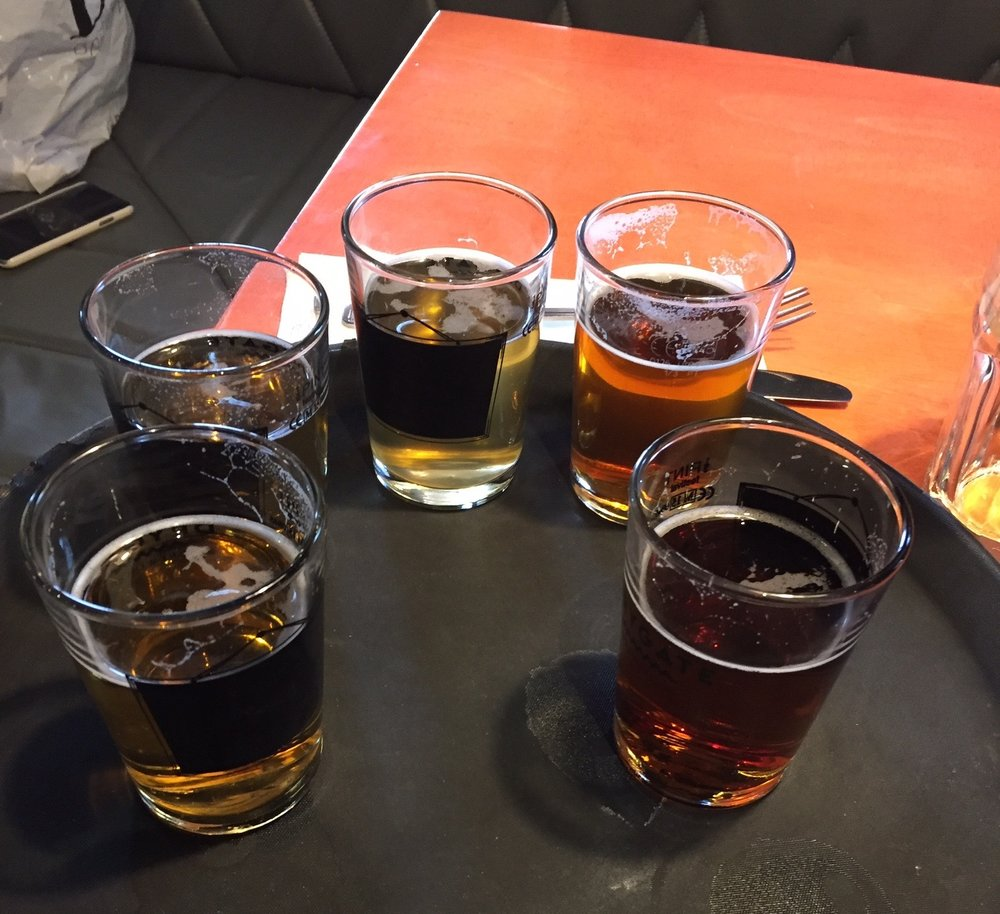 Sampling of the beer