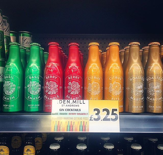 We now stock the incredible @edenmill cocktails in Dundas street - ready to drink straight from the bottle!!