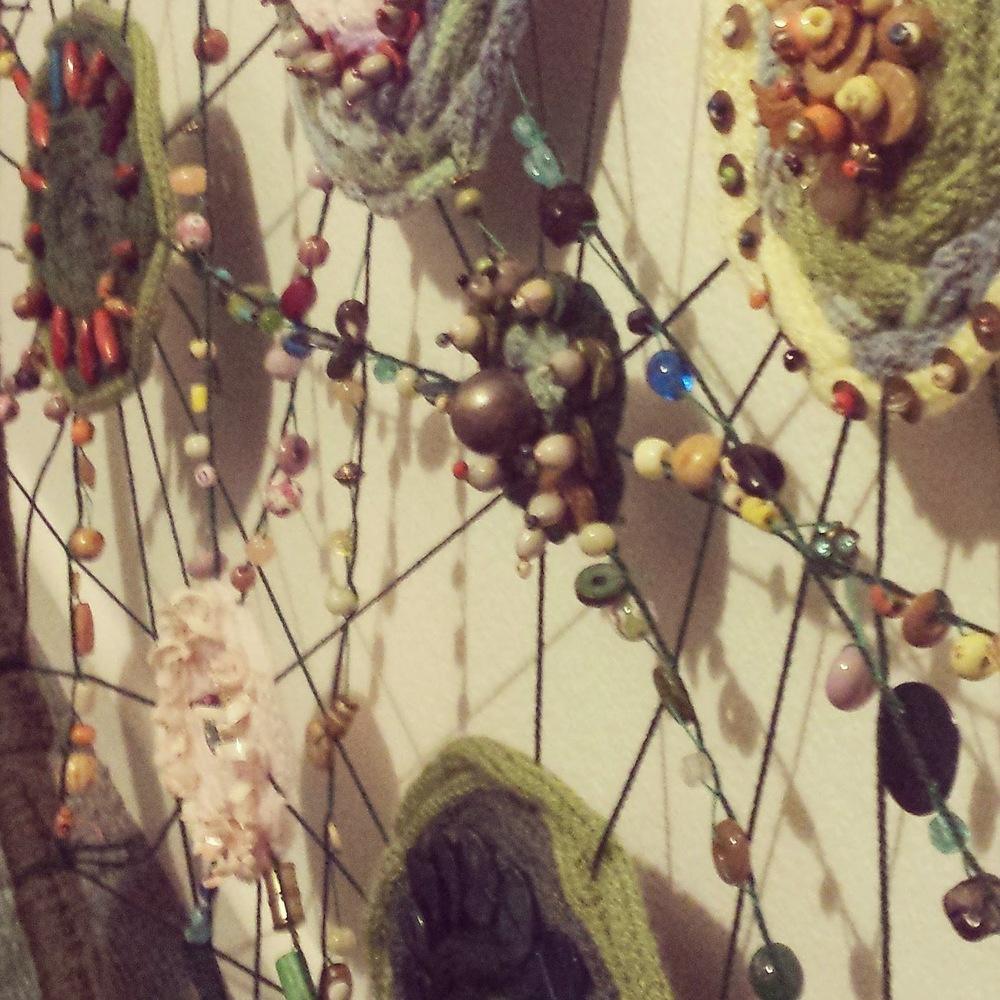 Garden Textile Installation