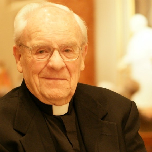 Here are some of the remaining opportunities to join in prayers for Archbishop Hunthausen: Tuesday, July 31: 2 p.m to 5 p.m. - Viewing, St. James Cathedral, Seattle. 7:30 p.m. - Vigil Service, St. James Cathedral. Archbishop J. Peter Sartain of Seattle, presider; Bishop Emeritus William Skylstad of Spokane, homilist.  Wednesday, August 1: 11 a.m. - Funeral Mass, St. James Cathedral. Archbishop Sartain, presider; Father Michael G. Ryan, pastor of St. James Cathedral, homilist.  A public reception will follow the funeral Mass. Archbishop Hunthausen will be interred in a private ceremony in the St. James Cathedral Crypt later in the day.  Photo: M. Laughlin