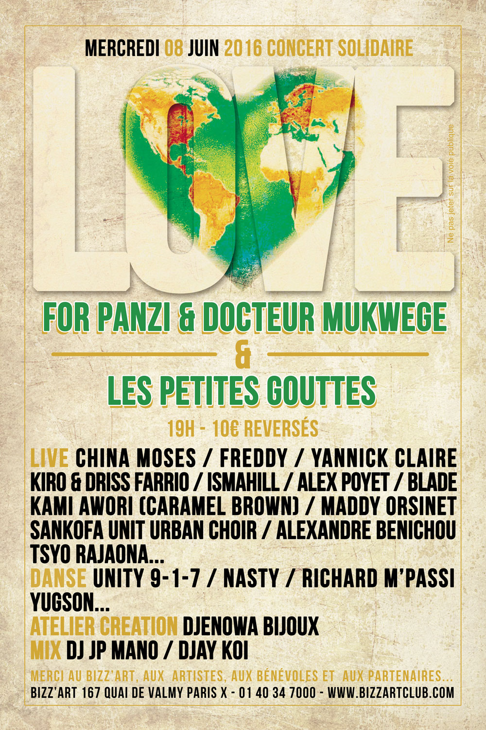 LOVE: A Concert in Solidarity — Panzi Foundation