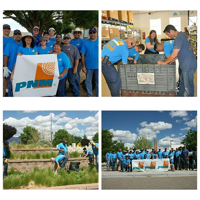 Check out one of our members, PNM, and their Community Crew doing work in the community! #pnmgrant