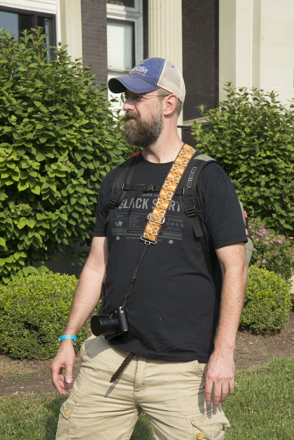 Chris Glass on a Photowalk in Walnut Hills  Photo by Maureen France