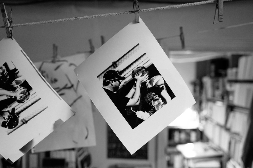 Your digital photo, transformed to a black & white print...