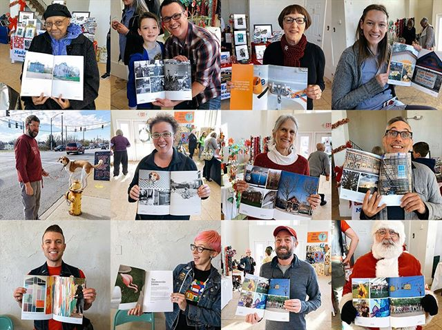 More contributors of the Madisonville Edition holding up their photos!  Buy a copy. Link in profile. (And if you contributed a photo you'll get a complimentary copy!)