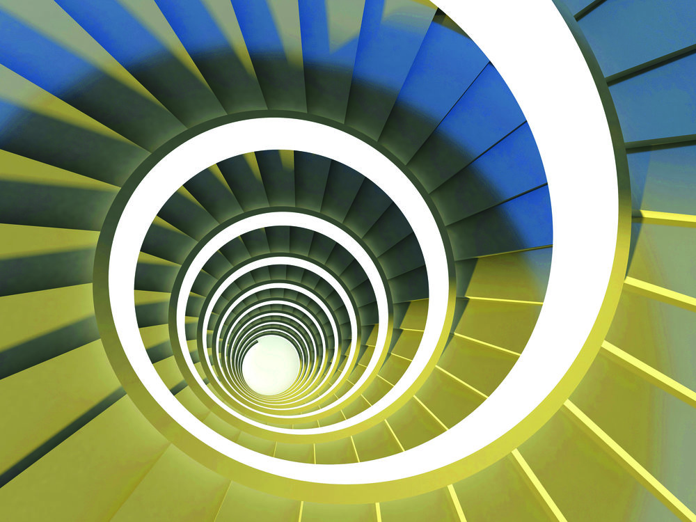 Spiraltreppe Fotolia_33434408_Spiral staircase_Copyright_MariaKazanova.jpg