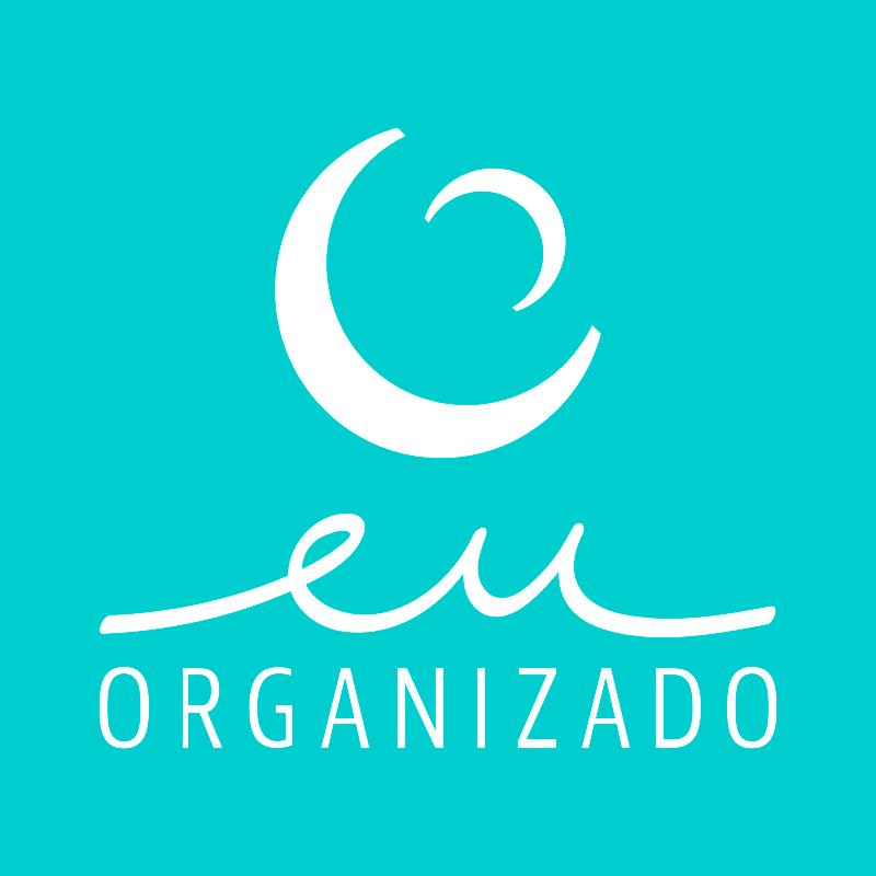 a primeira logo do Eu Organizado. :)