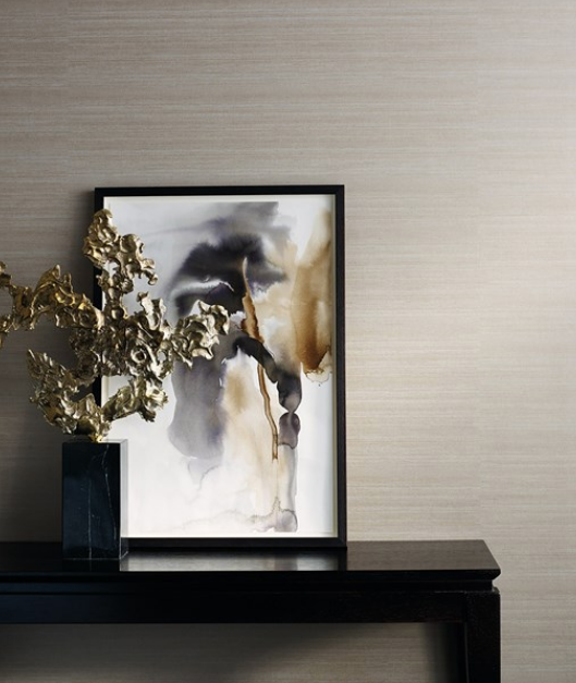 Nude is the new GREY - We are all a bit 50 shades done now so this trend excites me. Nudes. Simple, calming and can be teamed with anything to create any look. The beautiful Raw Silk wall-covering from Zoffany is the perfect accompaniment to any home.  Adding texture, depth and a slight sheen to a space.