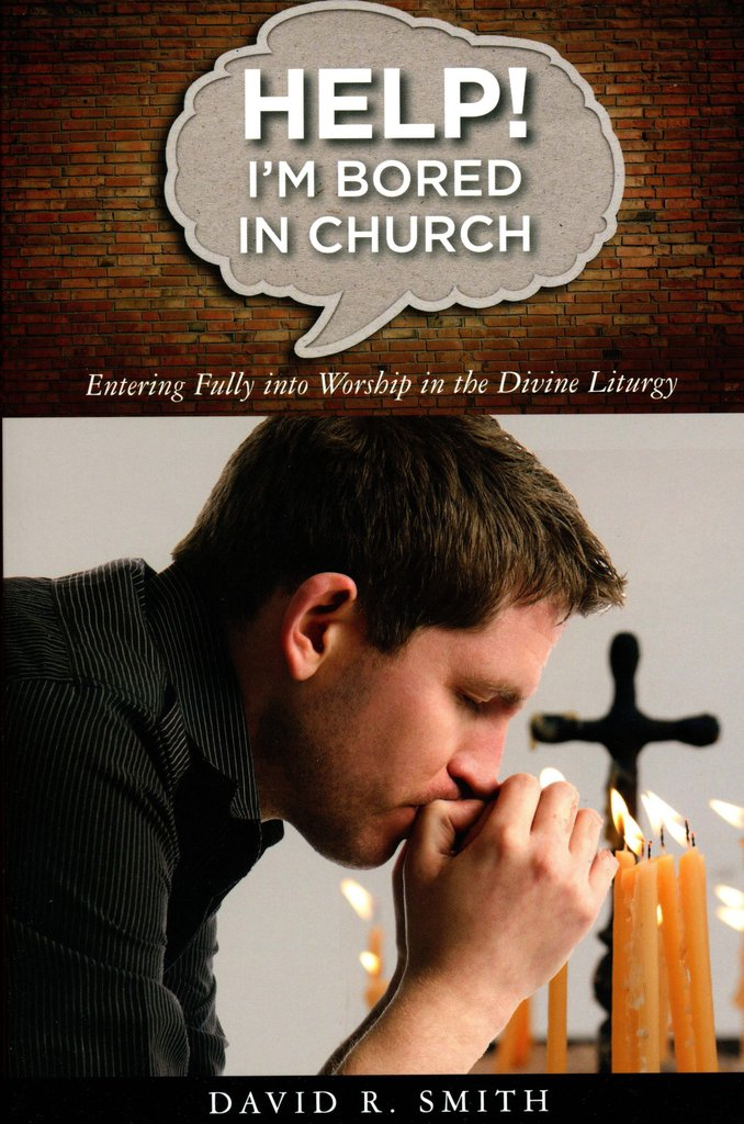 """book recommendation - This month our teens are learning about Liturgical worship and asking themselves, """"Is church boring?"""" Do YOU ever find yourself feeling bored in church? Don't despair you're not alone, and there is hope! Fr. David Smith offers four compelling reasons for going to church regardless of how we feel. He then explores six reasons people sometimes feel bored in church, five ways to think about your priest, four ways you can participate more fully in services, three kinds of waiting, two kinds of prayer, and the one thing truly needful in our relationship with God. This book will help you see church as the best place you could possibly be and the place you most want to be."""