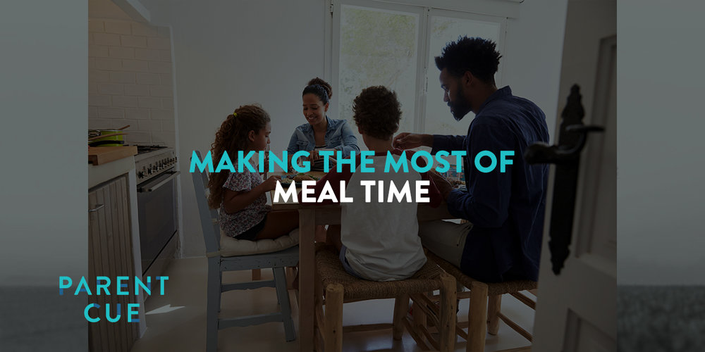 """MAKE THE MOST OF MEAL time - In Deuteronomy 6, Moses mentions four specific times in the day when the families are to recall the law God has given them: sitting at home, walking along the road, lying down, and getting up. Our version of """"sitting at home"""" is MEAL TIME. The goal of this time to establish your family values, so how do you do that? Check out the article for practical meal time conversation tips."""