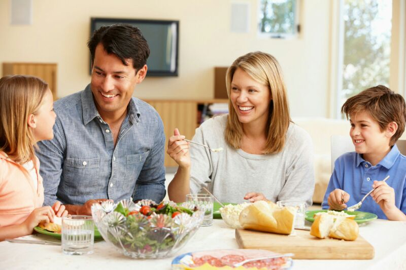 ENCOURAGING FAMILY CONVERSATION - One of the five characteristic marks of any genuinely thriving family is CONVERSATION (along with laughter, time spent together, prayer, and regular family dinners) but how do we get better at it?