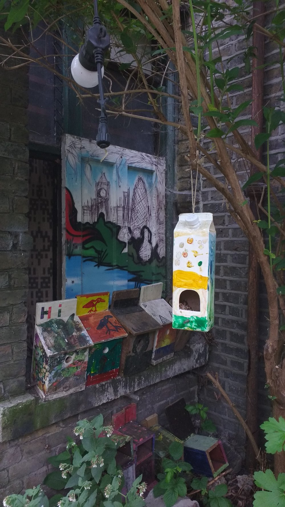 From Juice to bird box there's a home for everyone in Dalston Eastern Curve Garden