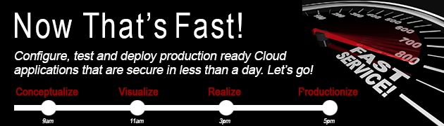 "Learn more about our "" JAM Sessions ""  to configure, test and deploy production ready Cloud Apps."