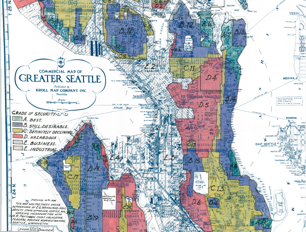 Photo courtesy of Seattle Curbed: Reliving Seattle's redlining roots through Great Depression maps