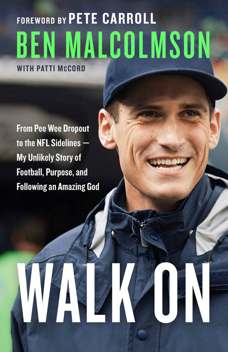 "Purchase Ben's book ""Walk On"" today!"
