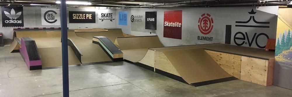 New All Together Skatepark ramp layout.