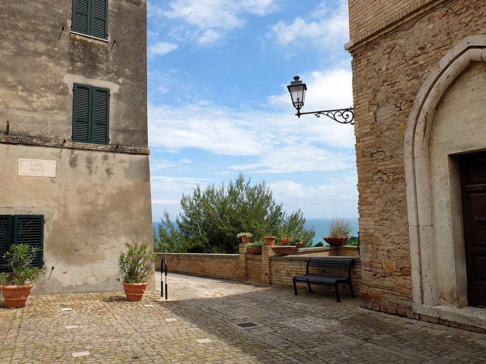 Torre di Palme, Le Marche, Italië