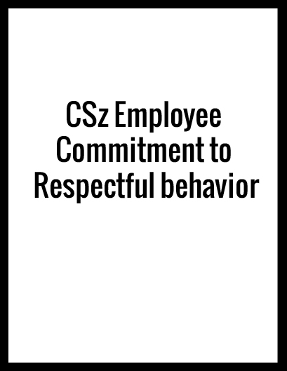 CLICK ABOVE TO VIEW COMMITMENT TO RESPECTFUL BEHAVIOR