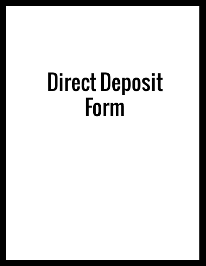 Click for the Direct deposit form