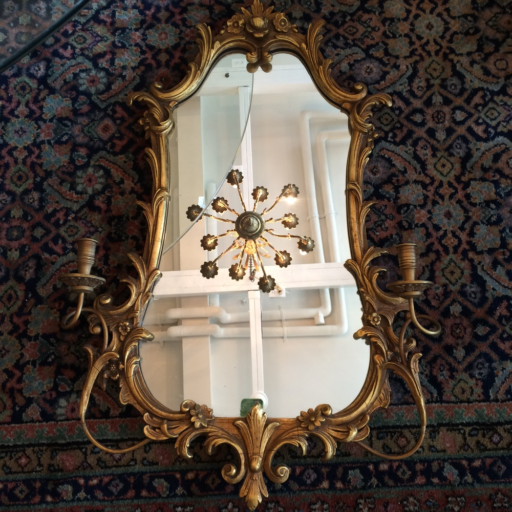 Pair Friedman Brothers Gilt Mirrors June 2016.JPG