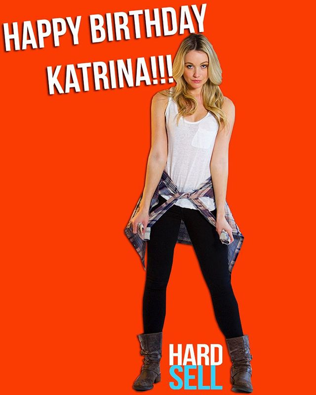 Wishing the amazing Katrina Bowden the happiest of bdays!!! Flannel will never be the same again #katrinabowden #happybirthday #hardsellmovie #indiefilm #movie #film #popcorn #filmmaking #actress #flannel