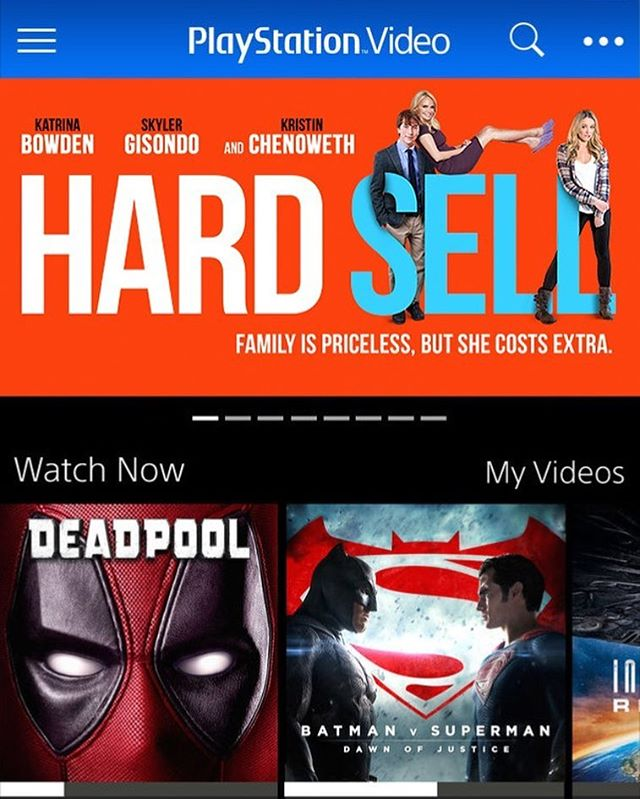 Game on! Watch Hard Sell on playstation tonight #playstation #hardsellmovie #indiefilm #popcorn #movies #gameon