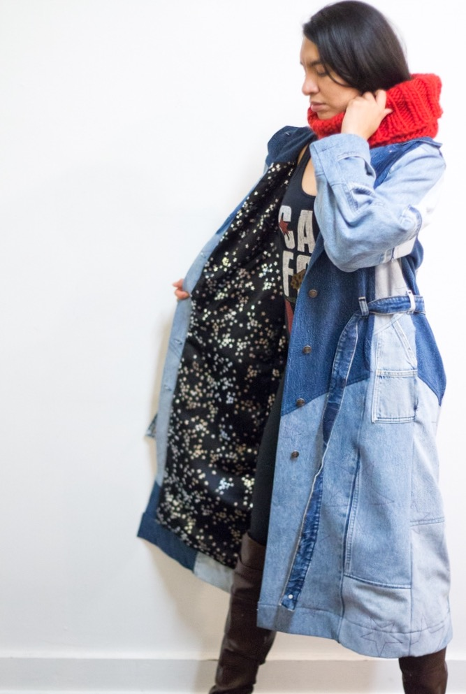 of the land denim trench