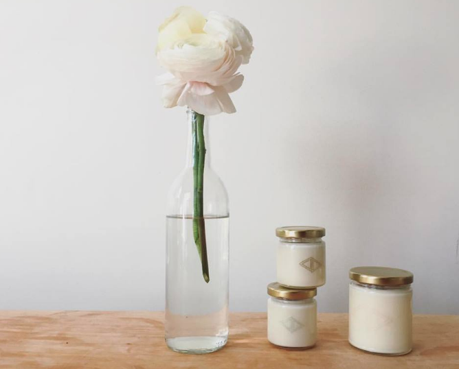 Rayne Home Decor Soy Wax Candles Made in Shelton, Connecticut $20