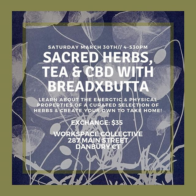 CBD vibes✨ Join us this Saturday for a magical afternoon with @breadxbutta while we blend some herbal teas infused with CBD. Perfect for relaxation, pain relief and trying something new✨ Save your spot via the link in bio✨ . . . #ethicalstyle #ethicalconsumer #sustainablefashion #sustainablestyle #slowfashion #simplestyle #morewithless #ethicalootd #ethicallymade #consciousconsumer #consciousfashion #consciousculture #consciouscloset #springfashion #fashionrevolution #fashrev #shopgreat #sustainablefashionblogger  #upcycledclothing #fairtradefashion #artisanmade #naturalfibers #livelifecurated #livelifeconsciously #theartofslowliving #dowhatyoulove #startwithwhy #getdowntowndanbury #wearedowntowndanbury #discoverdanbury